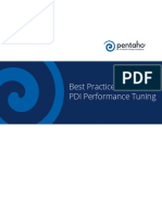 Best Practices - PDI Performance Tuning