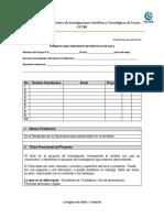 Formatos Propuesta Proyectos de Aula- 2017 (Estudiantes)