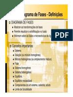 Aula 09 - Diagrama de Fases