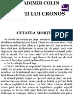 Vladimir Colin Dintii lui Cronos.pdf