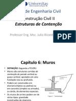 Construção Civil II_muros