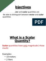 Scalar Vector Handout