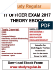It Officer Notes eBook