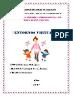 Perfil Pedagogico Del Docente en La Educacion Inicial