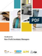 Handbook for Non Profit Incubators_July 2017