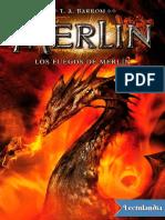 Los Fuegos de Merlin - T a Barron