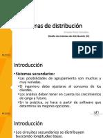 Sesión 25 - Diseño de Sistemas de Distribución (Parte 3)