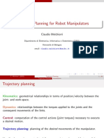 Trajectory Planning for Robot Manipulators