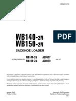 WB140-2N (ING) komatsu