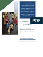 Artesanías Color y Folklore 14.5