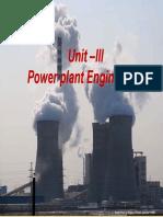 Unit III _ Power Plant