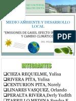 Diapositivas Cambio Climatico