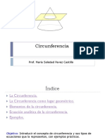 Circunferencia MONSTRAR Mostrar