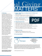 Global Giving Matters May-June 2005 Issue 22