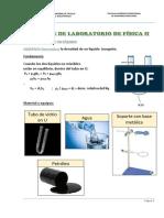 Informe de Laboratorio de Física II