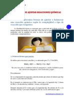 4 Formas de Ajustar Reacciones Químicas