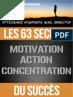 63 Secrets Du Succes