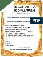 Universidad Nacional Federico Villarreal Administracion Final