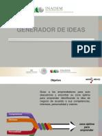 Manual Del Generador de Ideas- Capacitación