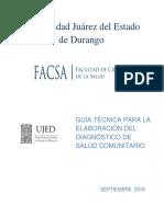 GUÍA TÉCNICA PARA LA ELABORACIÓN DEL DIAGNOSTICO DE  SALUD 2016.docx