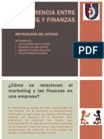 Diferencia Entre Marketing y Finanzas