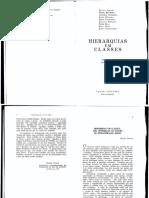 Hierarquias e Classes Neuma Aguiar e L Dumont