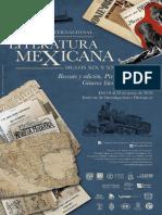 I Congreso Internacional de Literatura Mexicana. Siglos XIX y XX