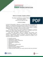 Convocatoria México Transatlántico