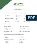 Calculo Integral Taller 1