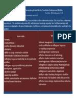 math interview cover sheet