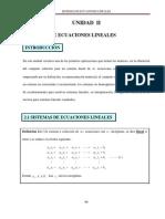 5unidad II de Algebra Lineal