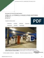 Adblue, La Fórmula Mágica Para Motores Euro 6 » Total Blog_ Expertos en Lubricantes Para Tu Motor