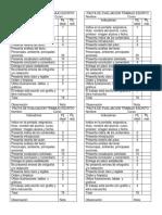 Pauta de Evaluación Trabajo Escrito Sexto