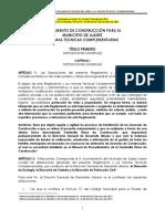 Reglamento de Construcción de CD Juárez y Sus Normas Técnicas Complementarias 2014