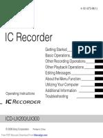 Sony ICD-UX300 User Manual20170220761566711