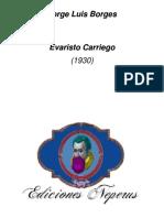 1930 - Evaristo Carriego (Ensayo)