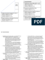 ela 9 gate unit 1 essential standards sheet