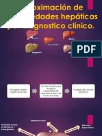 Aproximación de Enfermedades Hepáticas Por Diagnostico Clínico 2