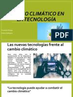 Cambio Climático en La Tecnología