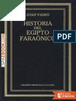 Historia Del Egipto Faraonico - Josep Padro I Parcerisa