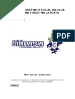 Anexo i - Estatuto Social Del Club de Gimnasia y Esgrima La Plata