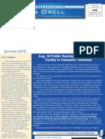 Grell Summer 2010 Newsletter