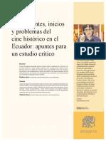 ANTECEDENTES E INICIOS DEL CINE HISTORICO EN ECUADOR.pdf