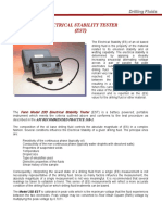 Electrical Stability Tester EST