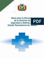 Bases Para La Discucion de La Doctrina de Seg. y Def.