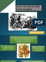 Las Guerras Civiles Entre Los Españoles Fin