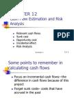 CHAPTER+12+Cash+Flow+Estimation