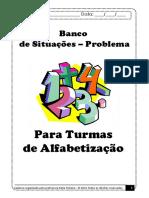 Banco DE SITUACOES PROBLEMA PARA TURMAS DE ALFABETIZACAO.pdf