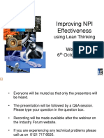Improving NPI Process Effectivness Using Lean Thinking (1)