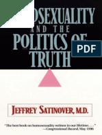 Jeffrey Satinover - Homosexualidad y La Política de La Verdad